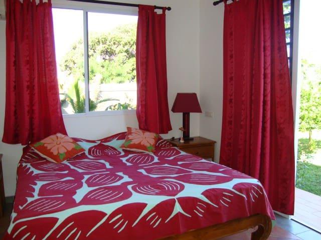 Chez Tutea B& B en chambre climatisée - Paea