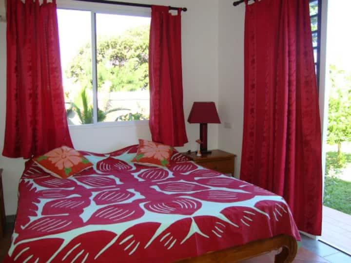 Chambre METUA dans villa - 5 mins de la plage