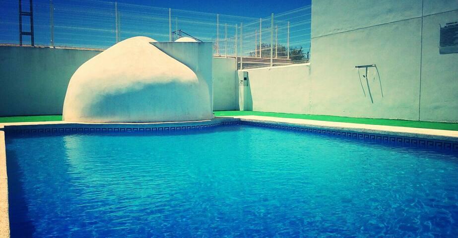Dos dormitorios privados casaAlbaricoques.Almería.