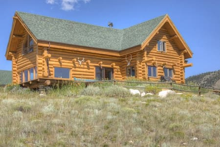 * NEW* Beautiful Log Home