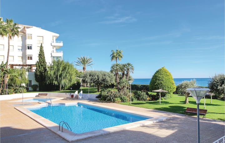 Stunning home in Altea with 2 Bedrooms and Outdoor swimming pool