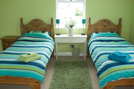 Twin Room, en-suite, large shower - Portpatrick, Stranraer
