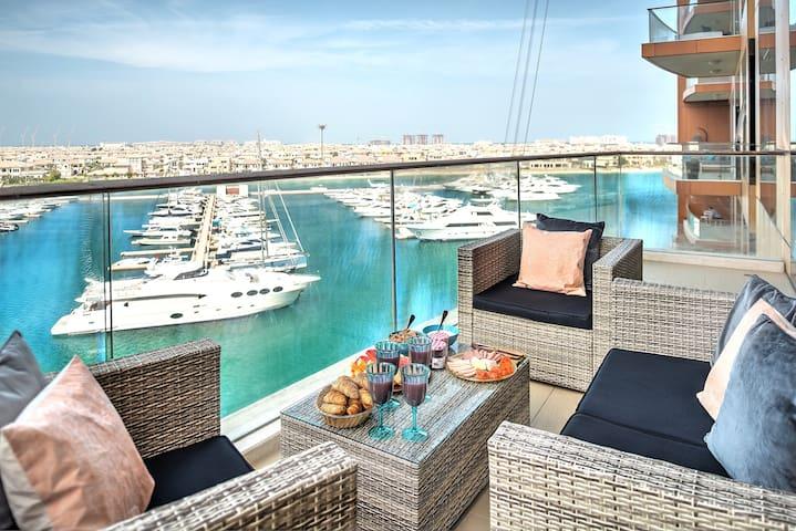 Incredible full Sea View - 3BR Palm Jumeirah - Dubai - Apartamento