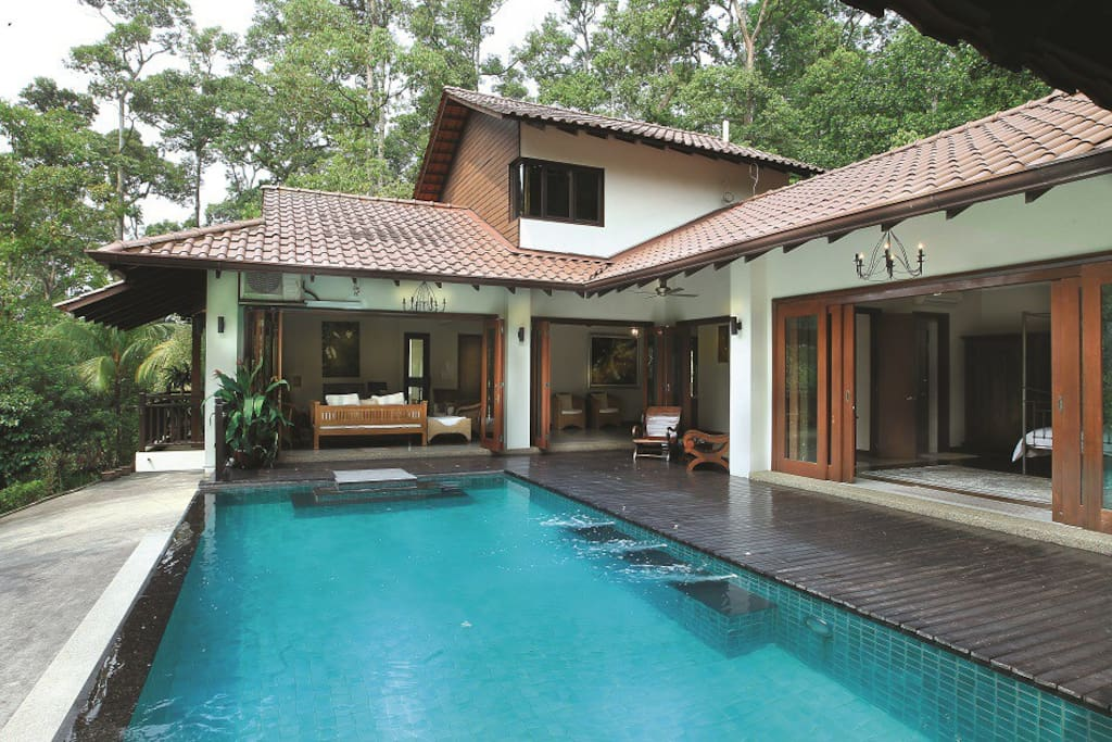 Luxury Retreat Surrounded By Nature Vilas Para Alugar Em Selangor Selangor Mal Sia