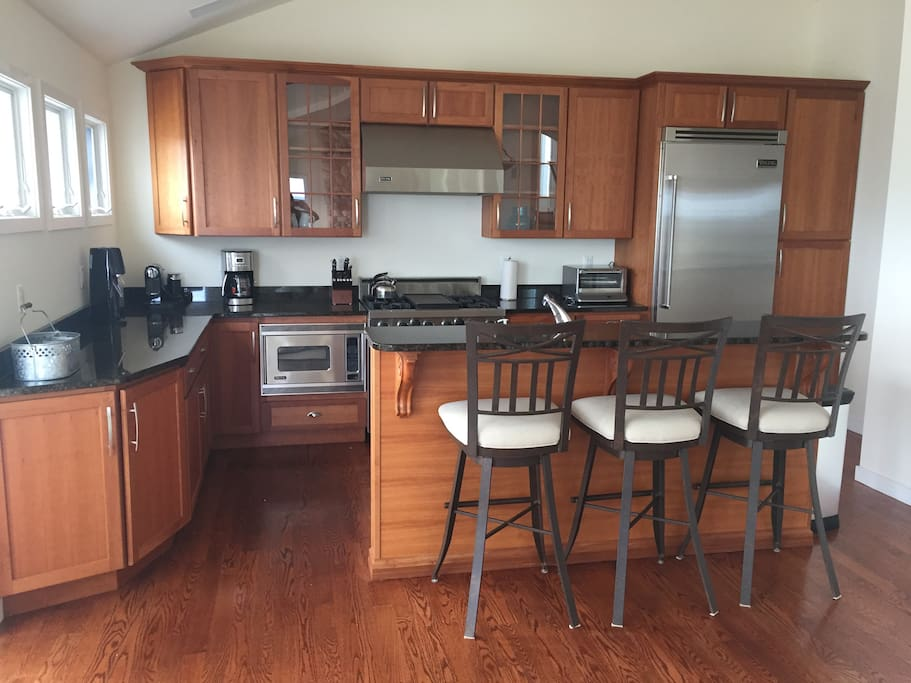 Gourmet Kitchen with Top End Appliances