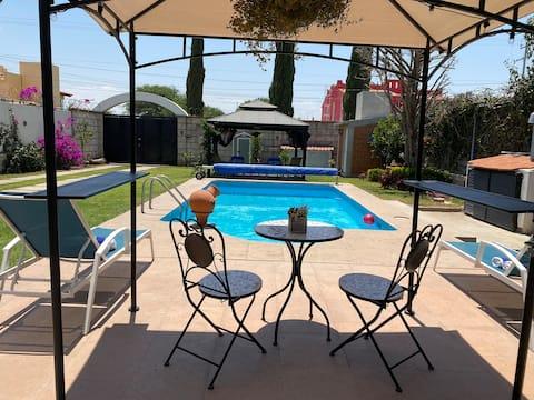 Tequisquiapan, Bernal, Villa with Pool, Vineyards