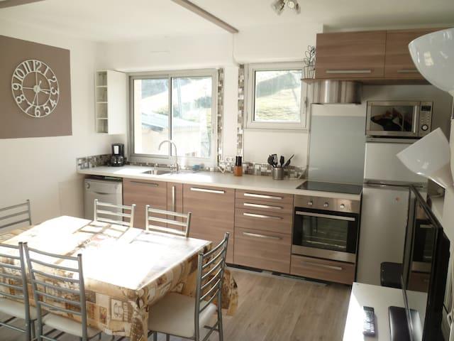 Appartement LA MONGIE 8pers 52m² pi - Bagnères-de-Bigorre - Apartament