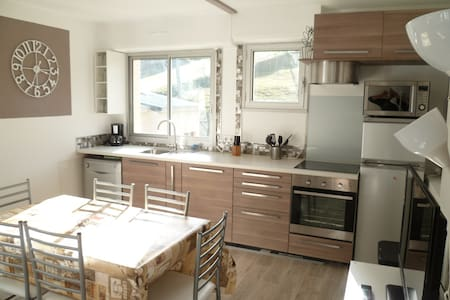 Appartement LA MONGIE 8pers 52m² pi - 바녜흐-드-비고흐 - 아파트