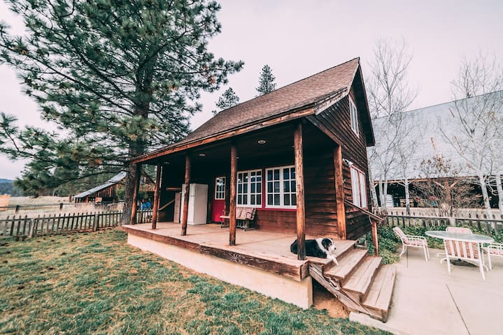 The Meyers Ranch Cabin