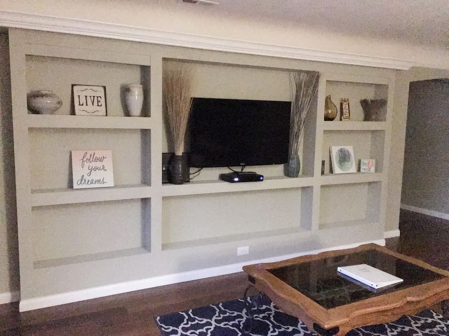 Entertainment Family Room