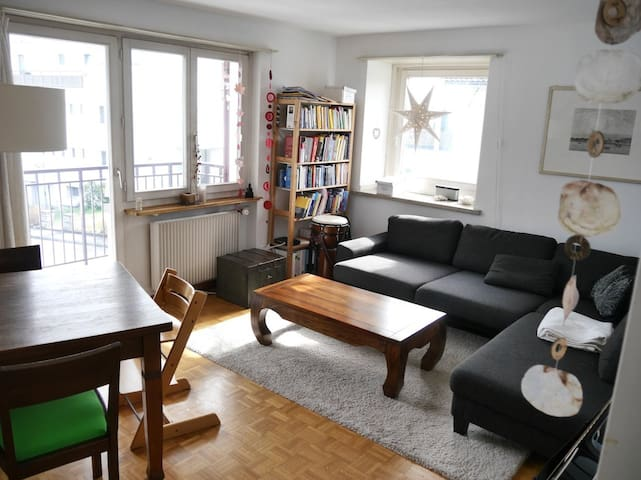 Cozy 3 room apartment with balcony - Zürih - Daire