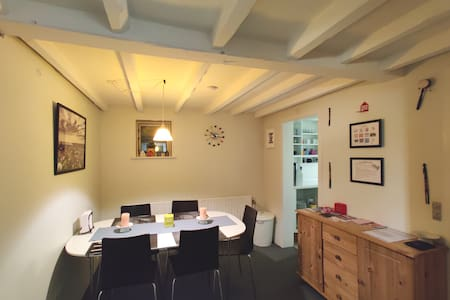 Aarhus _ furnished cozy private basement apartment