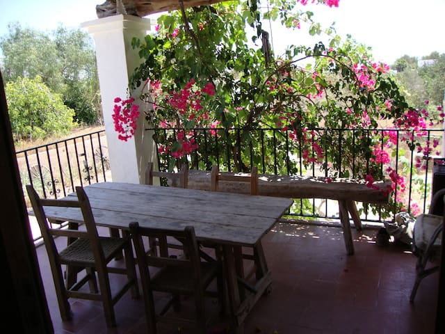 Charming isolated house near Ibiza (2-3rd floor) - Sant Rafel - Lägenhet
