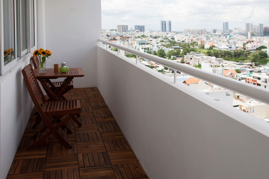 All our homes have spacious balconies to enjoy the view