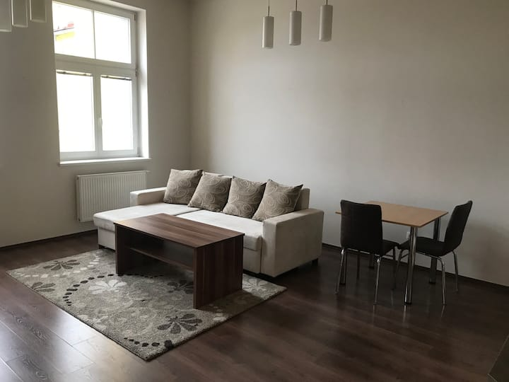 Sunny apartment in the city center fully equiped