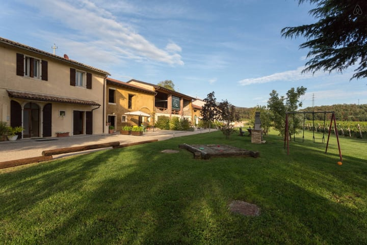 Rural apartment with pool - Zefferina