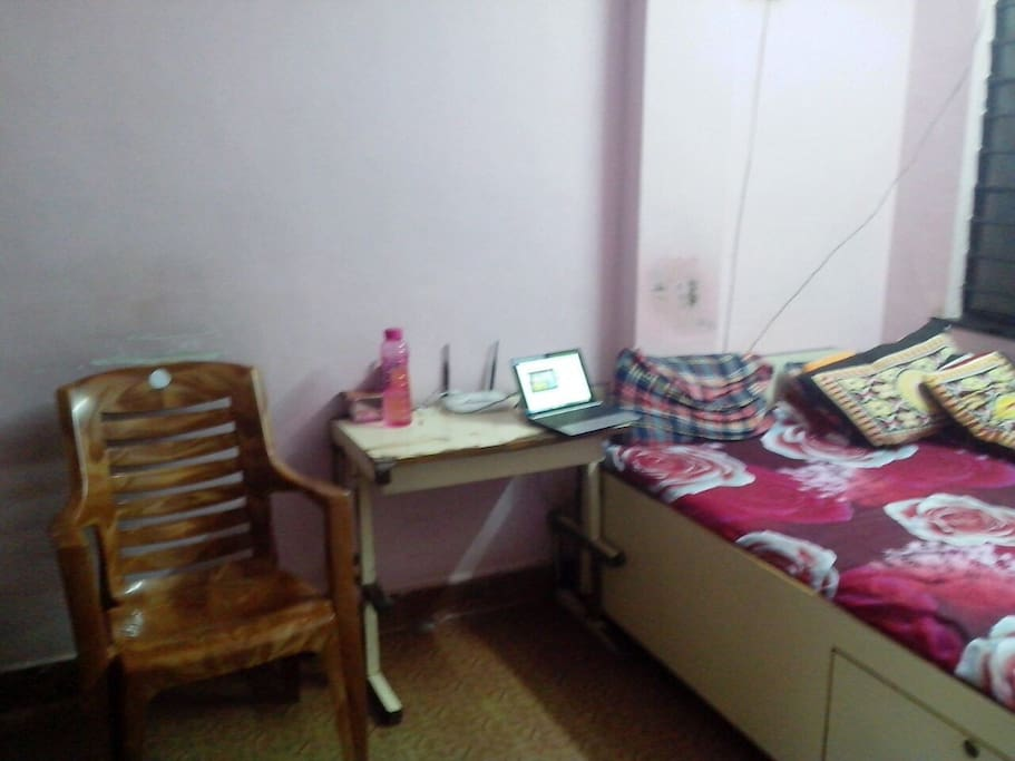 The room includes study table, Wifi and two large size chair.