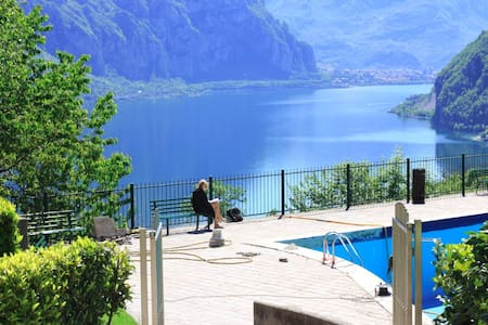A wonderful gateway at lake Como - Valbrona - Apartemen
