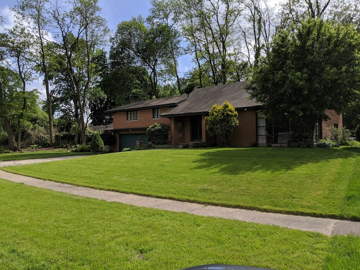 Mid-Century Home near Notre Dame