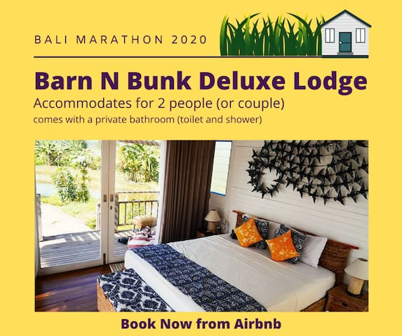Bali Marathon 2020 Barn N Bunk Deluxe Lodge