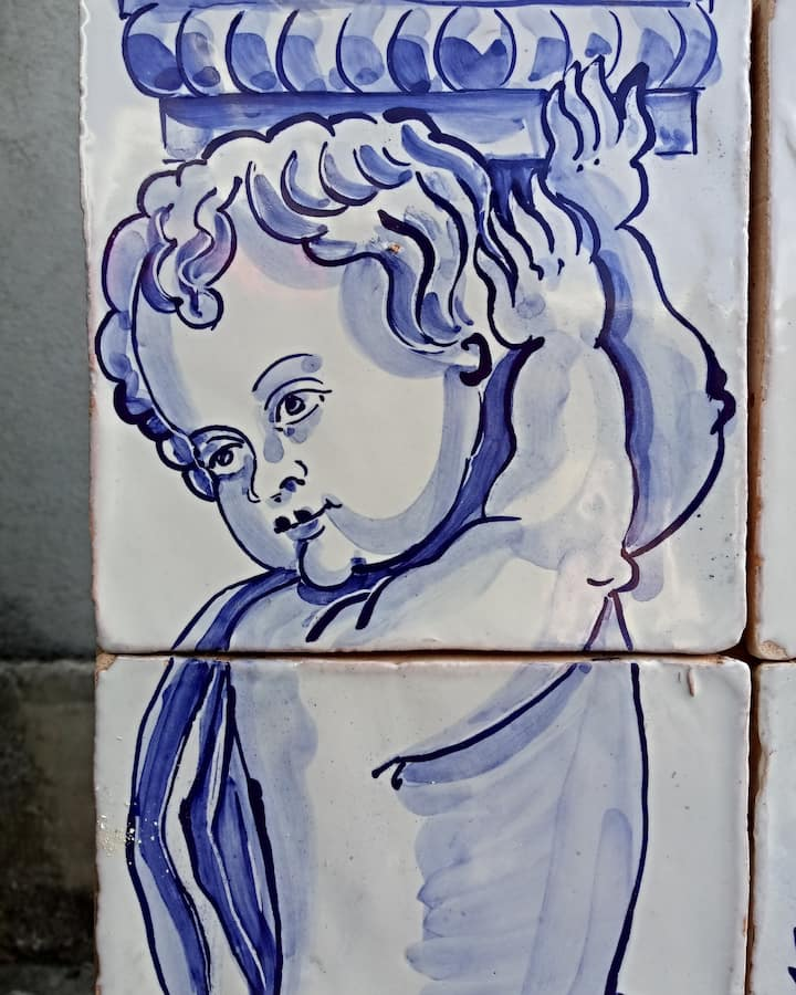A traditional angel panel, made by PATC.