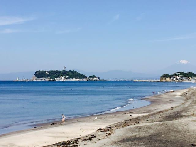 Kamakura Shichirigahama Train&Beach 1min walk #A-8 - Kamakura-shi - Rumah