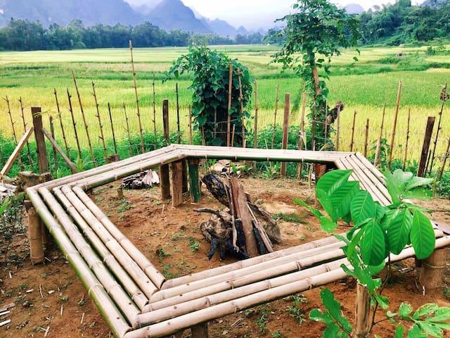 Phoxay Ngam Resort - Vang Vieng - Bungalow