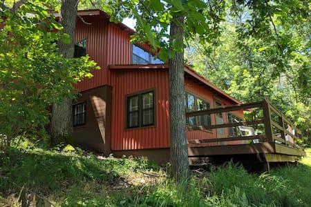 Three bedroom cabin on Rice Lake - ALBERTINA