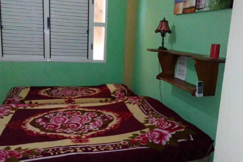 Habitación ideal para parejas con 1 hijo