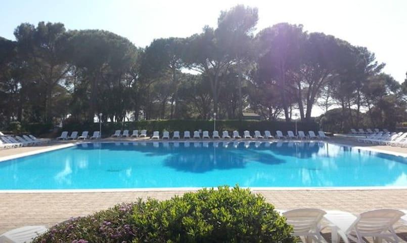 Vue golf, Piscine Chauffée, Proche Plages - Saint-Raphaël - Apartment