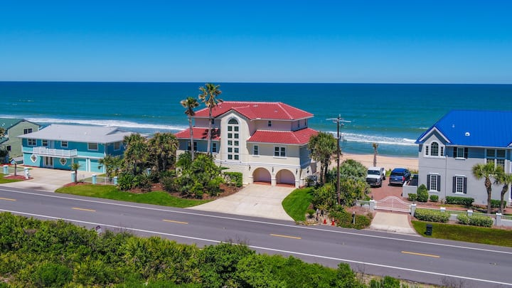 Oceanfront luxury, Private Beach.  St Augustine