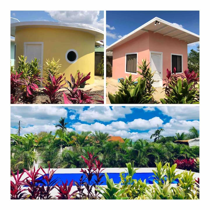 2 separate sorbet Houses w/Arenal view-AC & pool