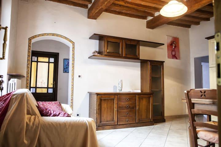 Antico borgo tra Siena, Arezzo e Firenze - Bucine - 公寓