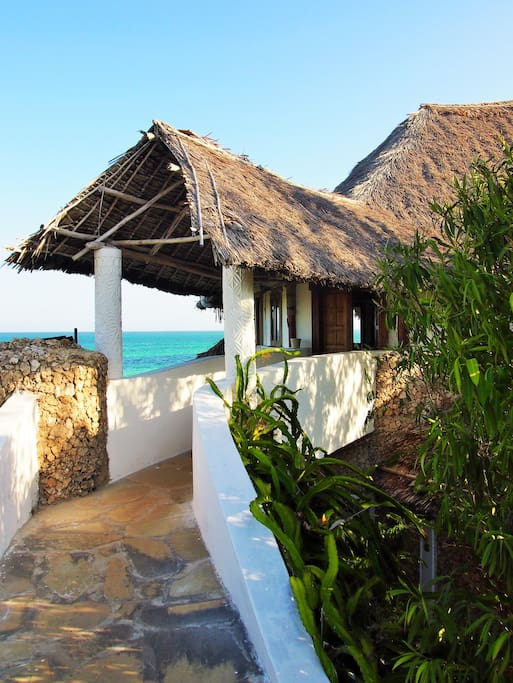 Main Entrance to The Beach House