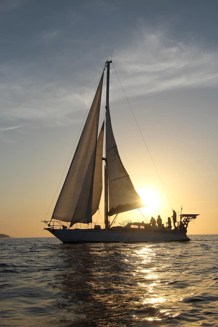 Lorient, voilier agréable, vacances, we, fêtes,