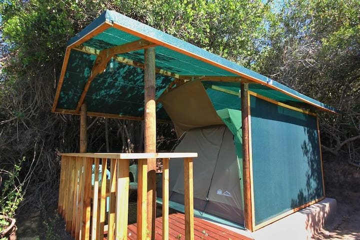 Deck-tent 2 @Wolwedans - Groot Brakrivier
