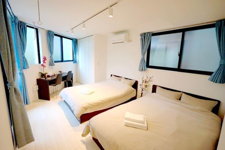 4 minutes to Shinjuku: New Tokyo Apartment 102 - Nakano-ku - Pis