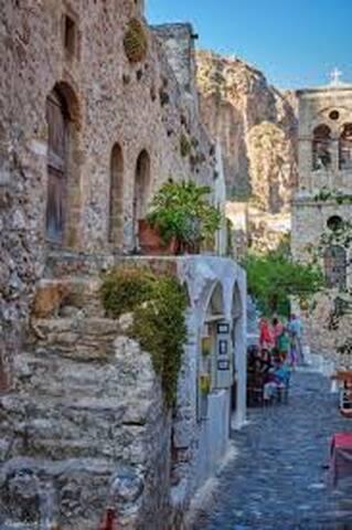 Monemvasia-city castle