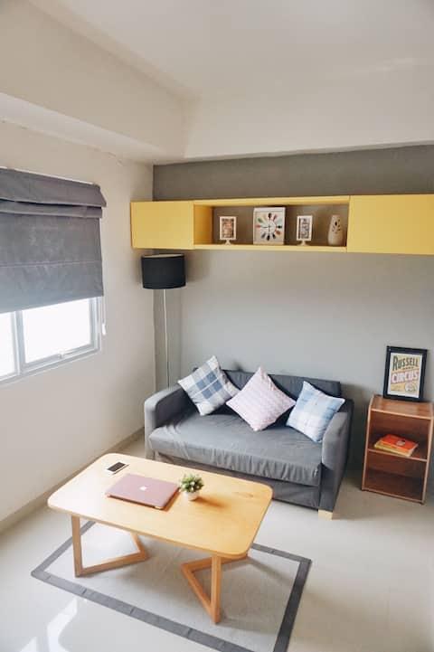 Pop Art Designed Apartment   @sudut.kuning