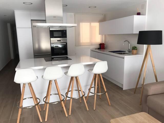 Fabuloso apartamento a 50 mt de la playa