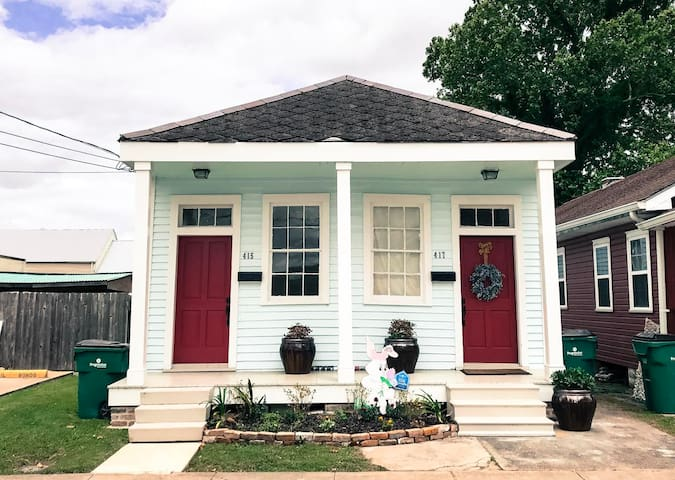 Historic District 1890s cottage - Gretna - Huis