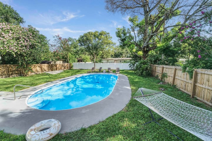 POOL HOME- DOWNTOWN ORLANDO - PRIVATE - RETREAT