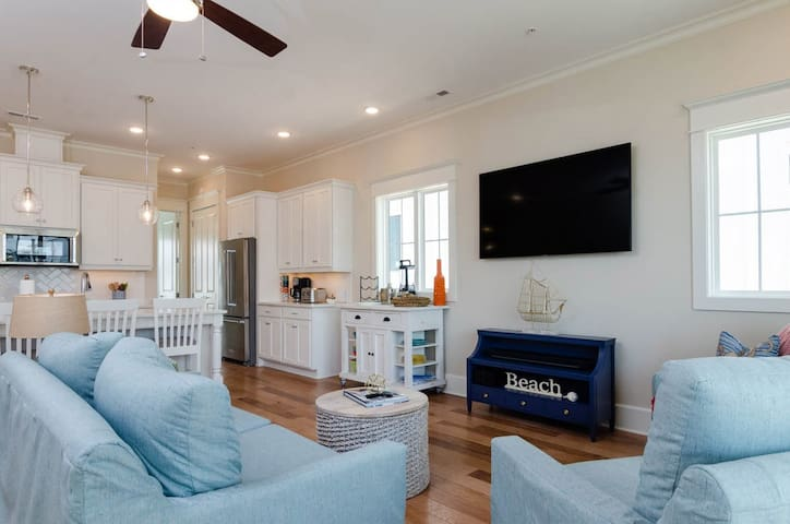 Koozie Time-BIG SAVINGS on this brand new condo in Wrightsville! Book now to SAVE 10%