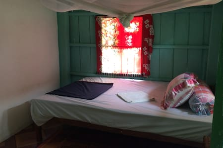 Petite chambre avec terrasse prive wc au rdc - Krong Preah Sihanouk - Vendégház