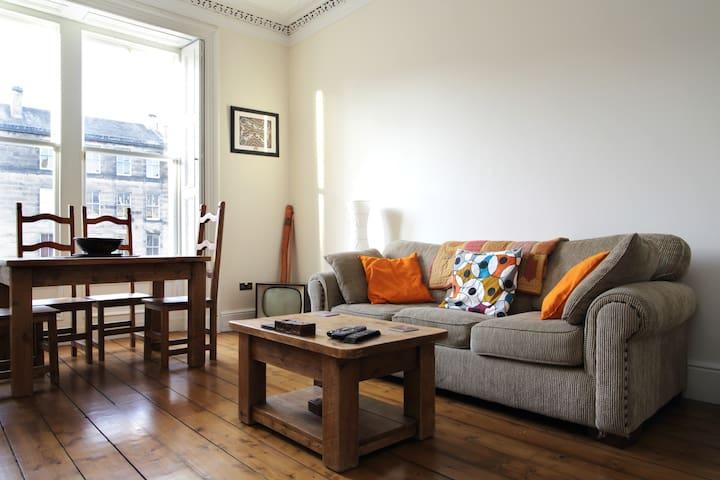 Central flat, large double room - Edinburgh - Flat