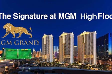 The Signature MGM suite high floor amazing view!!