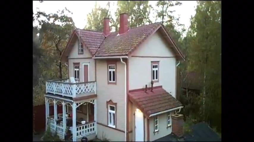 100 year old villa by the crystal clear river/lake