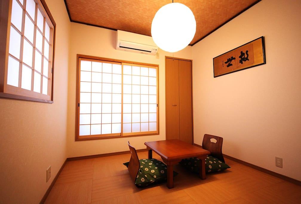 2階和室(寝室) 2F Japanese style room(bed room)