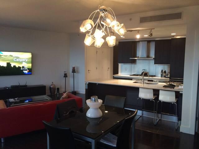 "Living Room - 70"" TV"