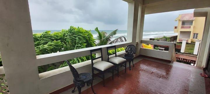 Sea Paradiso : 3bhk beachfront villa for groups